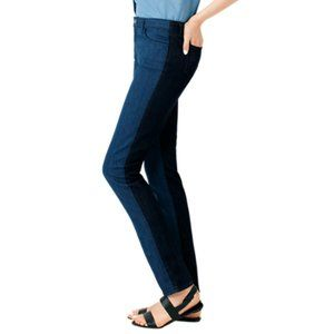 Kate Spade Saturday Two Tone Skinny Jeans Size 27